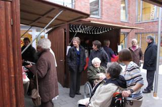 erster Weihnachtsmarkt an St. Josef