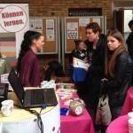 Schülerin Julia Wilczek gibt Infos zur Ausbildung und kann aus eigener Erfahrung berichten