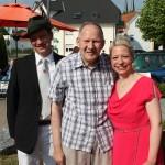 H. Feldmann mit Timo Wiedenhues und Isabell Molitor