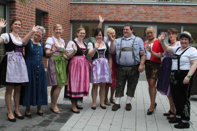 Die Mitarbeiter von St. Josef heißen Sie herzlich bayerisch willkommen ...